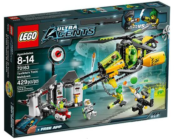 LEGO® Ultra Agents 70163 Toxikitas Angriff auf das Labor