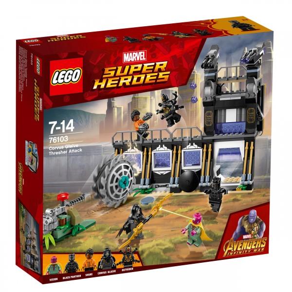 LEGO® Marvel Super Heroes 76103 Corvus Glaives Attacke