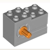 LEGO® 4619718 Seilwinde 2x4x2,33 grau