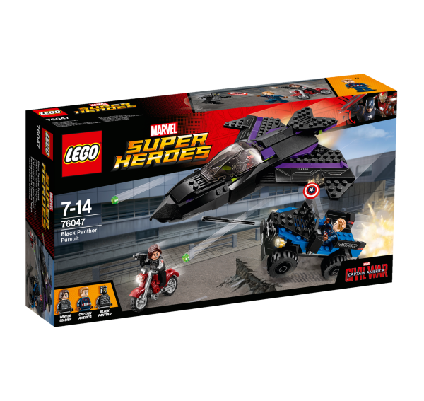 LEGO® Marvel Super Heroes 76047 Jagd auf Black Panther