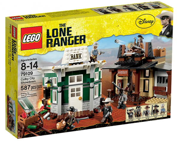 LEGO® Lone Ranger 79109 Duell in Colby City