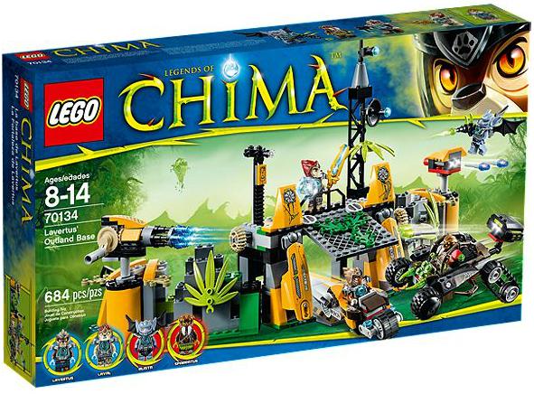 LEGO® Chima 70134 Lavertus Lagerversteck