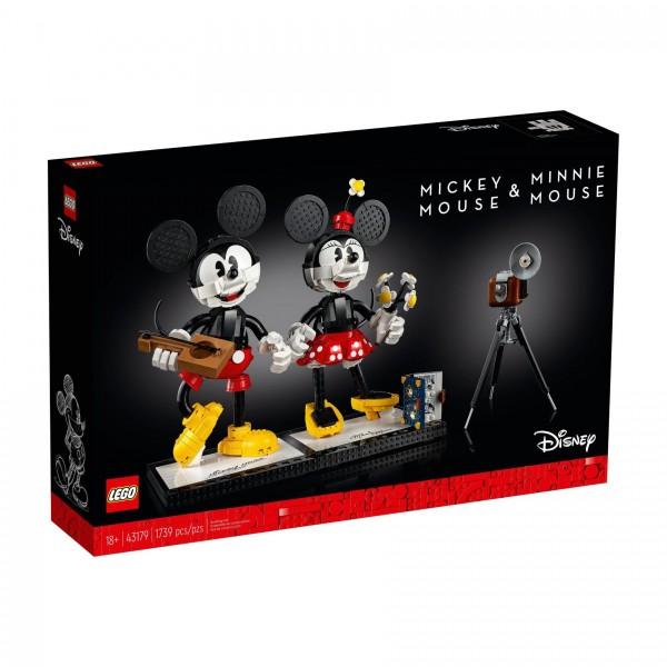LEGO® 43179 Micky Maus und Minnie Maus