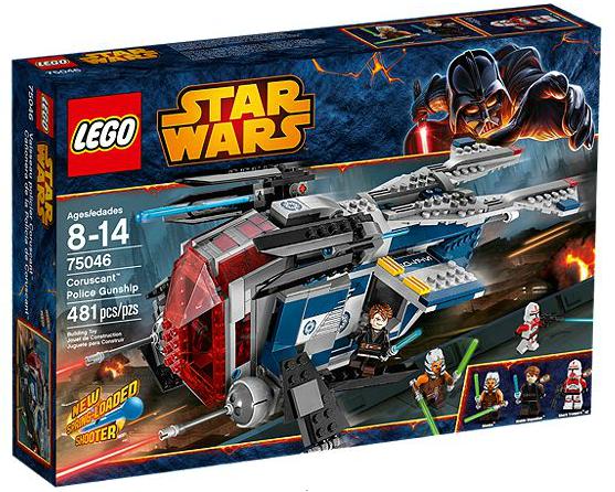 LEGO® Starwars 75046 Coruscant Police Gunship