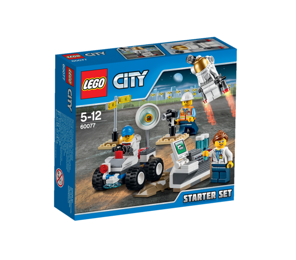 LEGO® CITY 60077 Weltraum Starter-Set