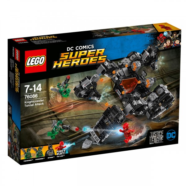 LEGO® DC Comics Super Heroes 76086 Knightcrawlers Tunnel-Attacke