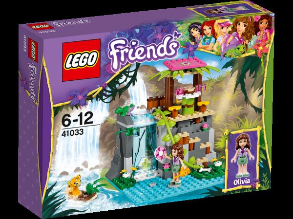LEGO® Friends 41033 Einsatz am Dschungel-Wasserfall