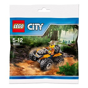 LEGO® CITY 30355 Dschungel-Quad