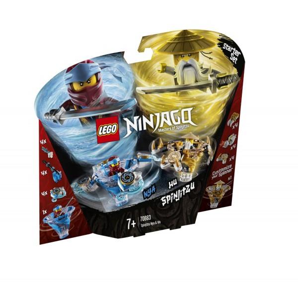 LEGO® NINJAGO® 70663 Spinjitzu Nya & Wu