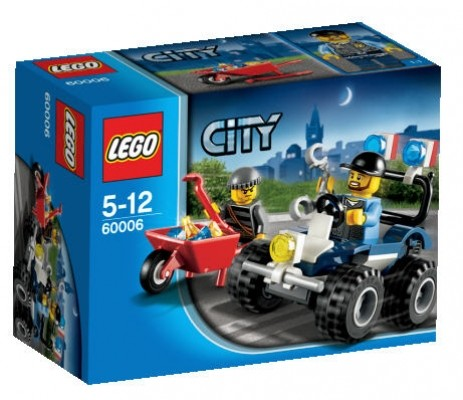 LEGO® CITY 60006 Polizei-Quad
