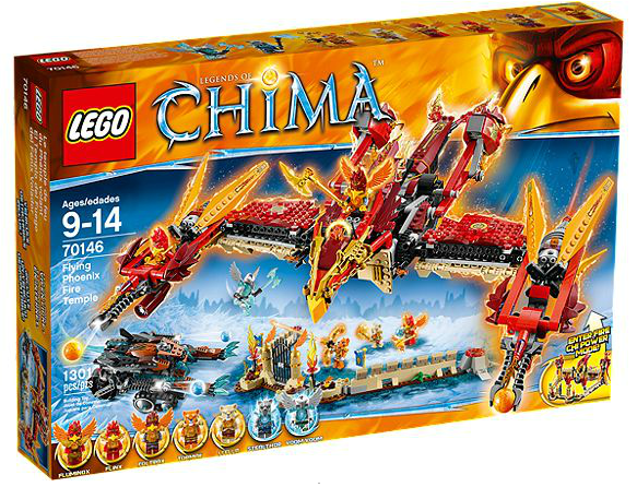 LEGO® Chima 70146 Phoenix Fliegender Feuertempel
