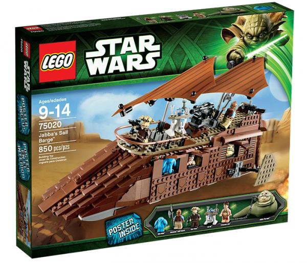 LEGO® Starwars 75020 Jabbas Sail Barge