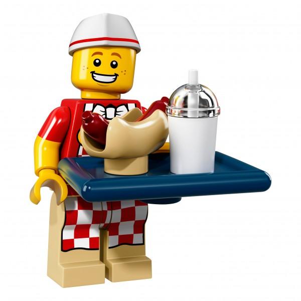 LEGO® 71018 Minifigur Serie 17 - Hotdog-Verkäufer 71018-06
