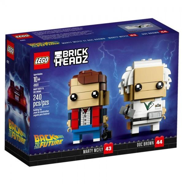 LEGO® BrickHeadz 41611 Marty McFly und Doc Brown