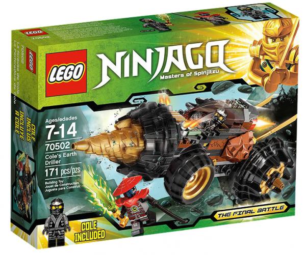 LEGO® Ninjago 70502 Coles Powerbohrer
