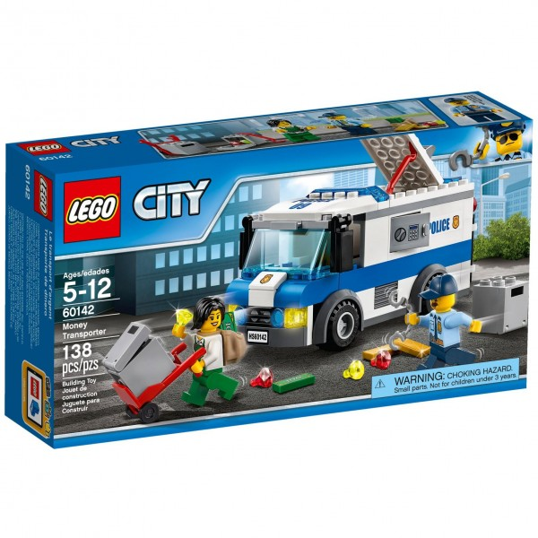 LEGO® CITY 60142 Geldtransporter