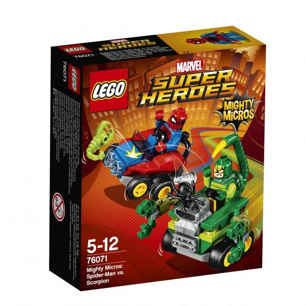 LEGO® Marvel Super Heroes 76071 Mighty Micros: Spider-Man vs. Scorpion
