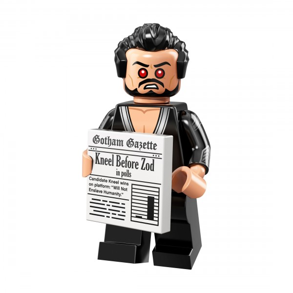 The LEGO® Batman Movie Minifigur Serie 2 - General Zod 71020-17