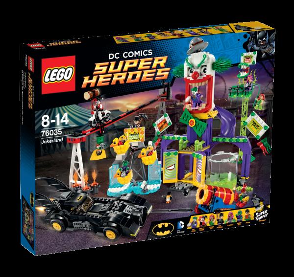 LEGO® DC Universe Super Heroes 76035 Joker-Land