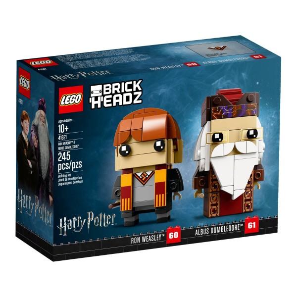 LEGO® BrickHeadz 41621 Ron Weasley und Albus Dumbledore