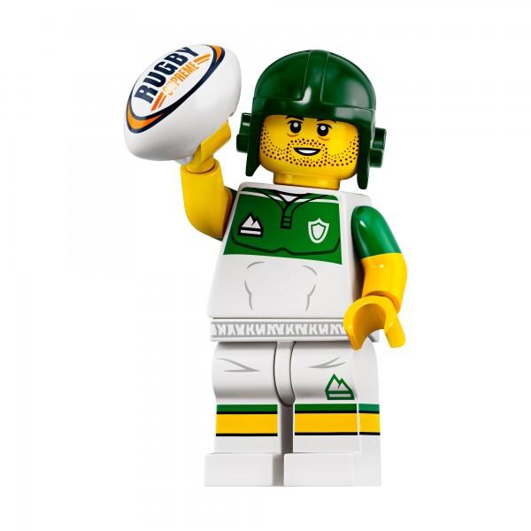 LEGO® Minifigur Serie 19 71025-13: Rugby-Spieler