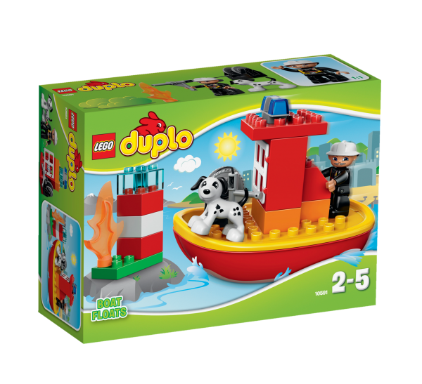 LEGO® DUPLO® 10591 Feuerwehrboot