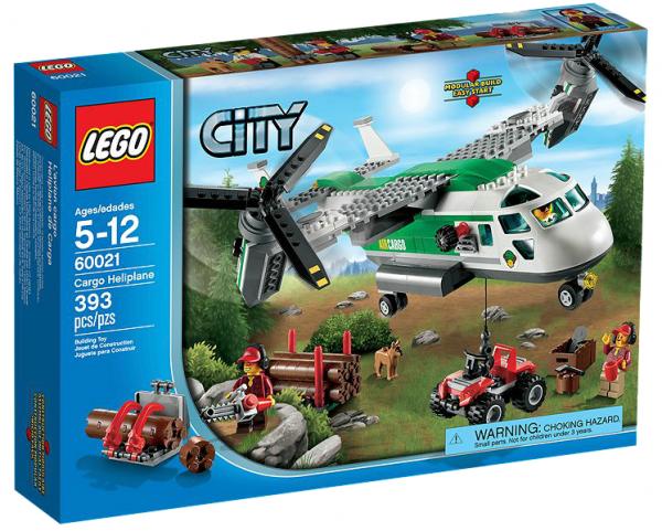 LEGO® CITY 60021 Schwenkrotorflugzeug