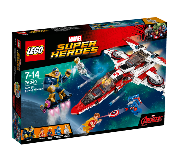 LEGO® Marvel Super Heroes 76049 Avenjet Weltraummission
