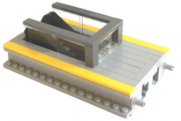 derKlassiker 1131 modularer Bahnsteig mit Rolltreppe