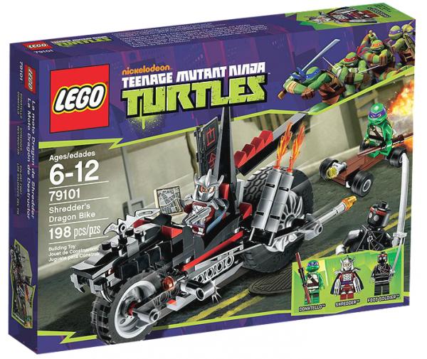 LEGO® TMNT 79101 Shredders Turbobike