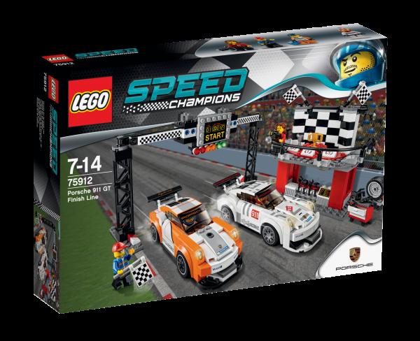 LEGO® Speed Champions 75912 Porsche 911 GT Ziellinie