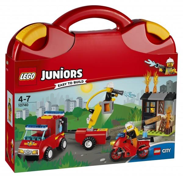 LEGO® Juniors 10740 Löschtrupp-Koffer