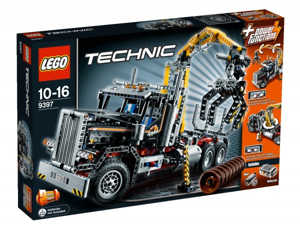LEGO® Technic 9397 Holztransporter