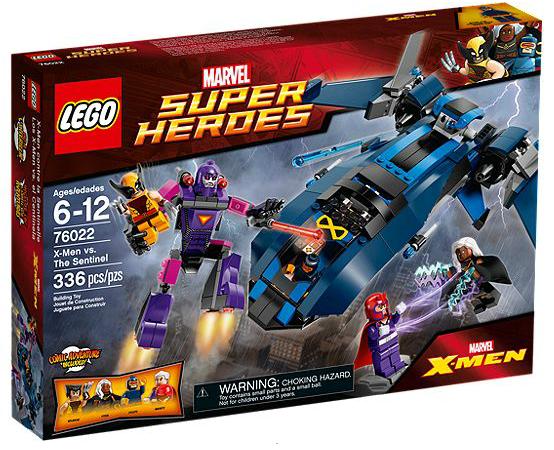 LEGO® Marvel Super Heroes 76022 X-men vs. The Sentinel