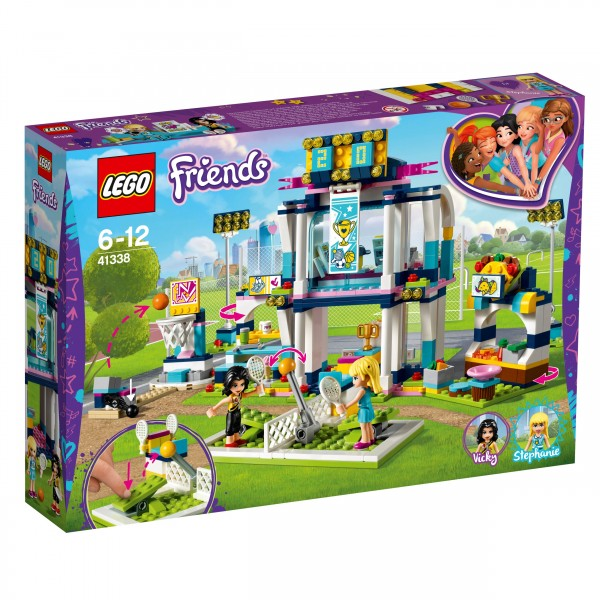 LEGO® Friends 41338 Stephanies Sportstadion