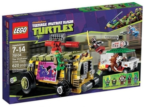 LEGO® TMNT 79104 Turtles Shellraiser