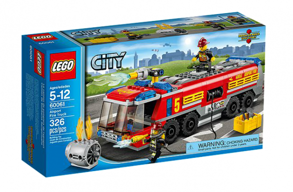 LEGO® CITY 60061 Flughafen-Feuerwehrfahrzeug