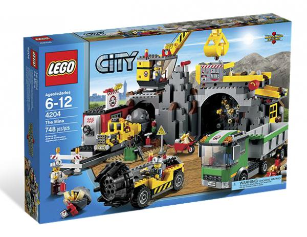 LEGO® CITY 4204 Bergwerk
