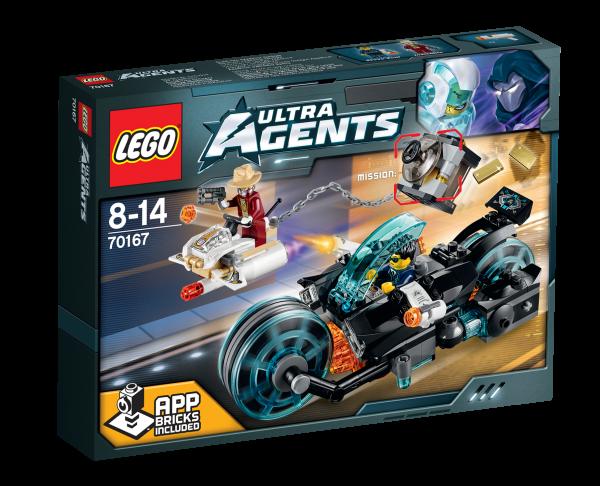 LEGO® Ultra Agents 70167 Invizable's Goldraub