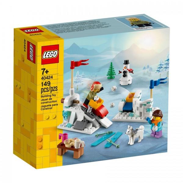 LEGO® 40424 Schneeballschlacht