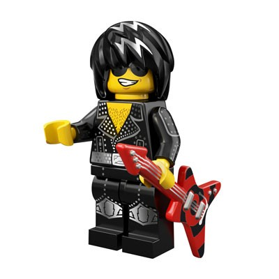 LEGO® Minifiguren Serie 12 - Rock Star 71007-15