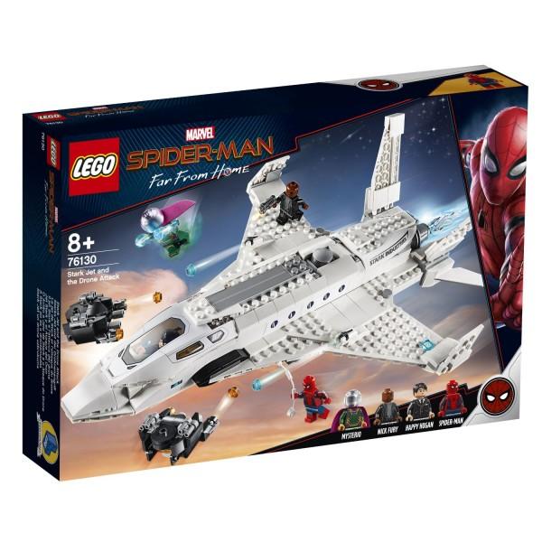 LEGO® Marvel Super Heroes 76130 Starks Jet und der Drohnenangriff