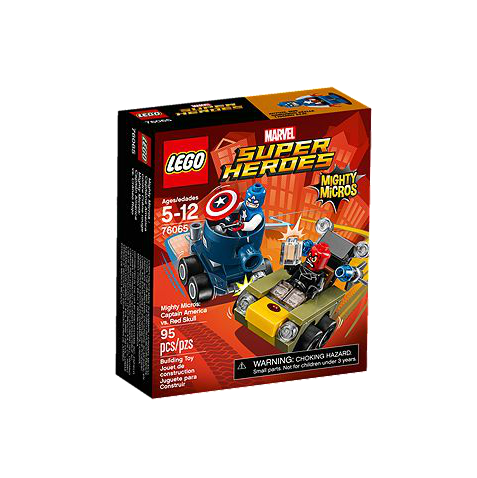 LEGO® Marvel Super Heroes 76065 Mighty Micros: Captain America vs. Red Skull