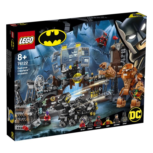 LEGO® DC Universe Super Heroes 76122 Clayface™ Invasion in die Bathöhle