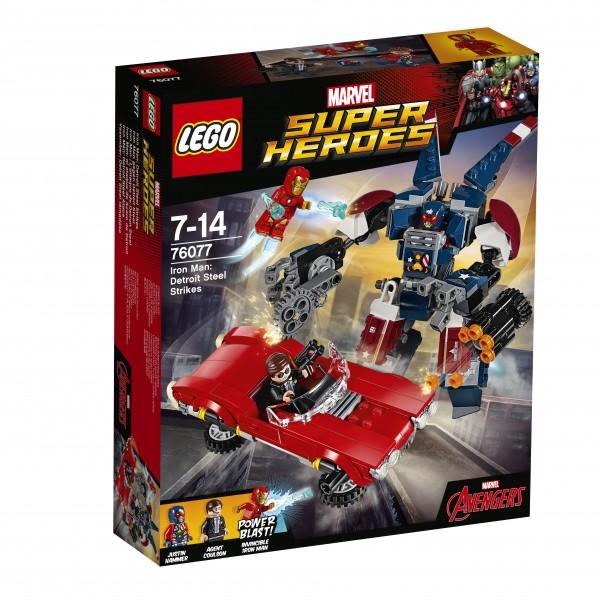 LEGO® Marvel Super Heroes 76077 Iron Man gegen Detroit Steel