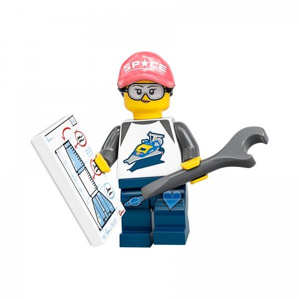 LEGO® Minifigur Serie 20 71027-06: Weltraumfan