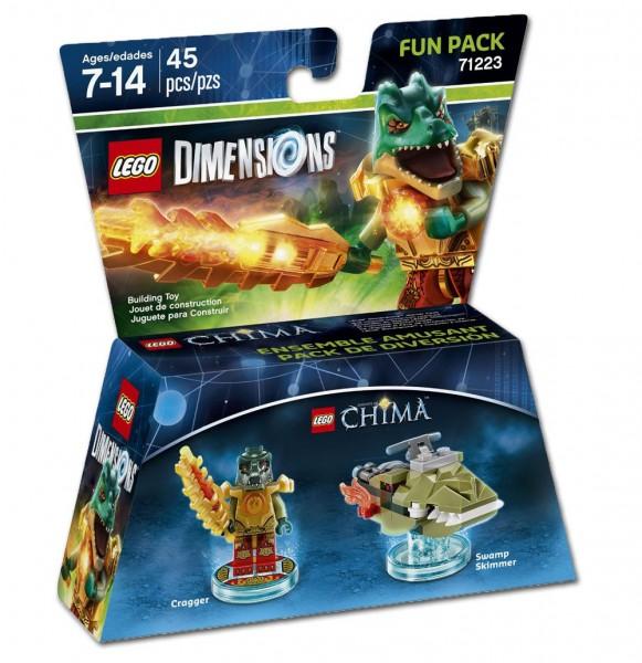 LEGO® Dimensions 71223 Fun Pack Chima: Cragger