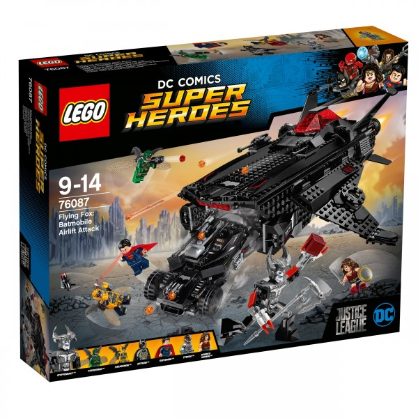 LEGO® DC Comics Super Heroes 76087 Flying Fox: Batmobil-Attacke aus der Luft