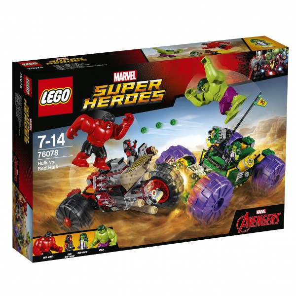LEGO® Marvel Super Heroes 76078 Hulk gegen Red Hulk