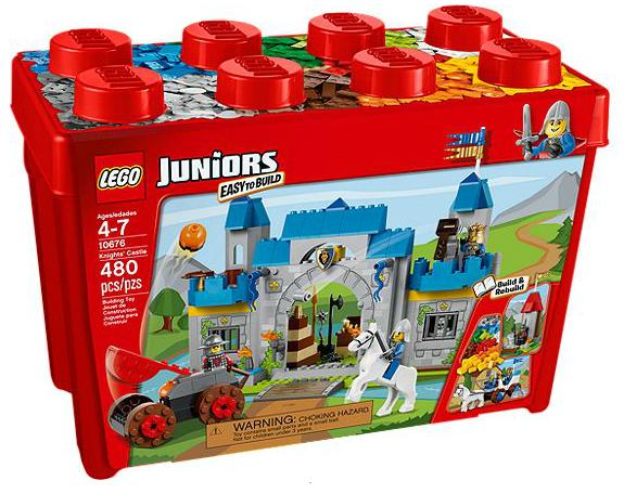 LEGO® Juniors 10676 Große Steinebox Ritterburg